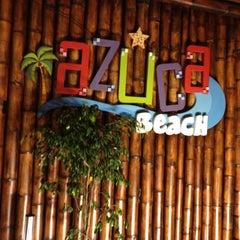 Photo taken at Azuca Beach by Juan D. on 7/25/2012