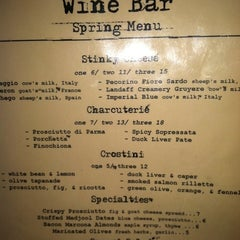Photo taken at Brooklyn Heights Wine Bar by Jackie B. on 6/24/2012