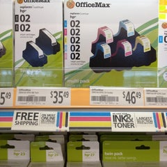 Photo taken at OfficeMax by Shayne C. on 6/2/2012