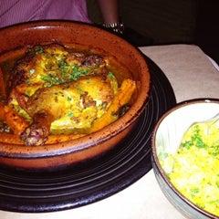 Photo taken at Kous Kous Moroccan Bistro by Roger M. on 8/9/2012