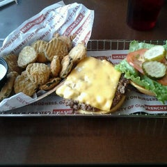 Photo taken at Smashburger by RoxC on 5/5/2012