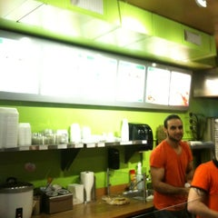 Photo taken at Donair Dude by Geoff T. on 4/2/2012