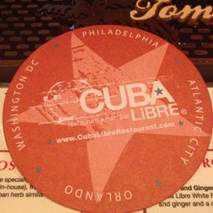 Photo taken at Cuba Libre Restaurant & Rum Bar by Luis V. on 3/10/2012
