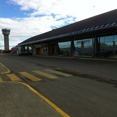 Photo taken at Aeropuerto Presidente Carlos Ibáñez del Campo (PUQ) by Constanza G. on 8/25/2012