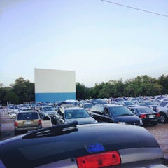 Photo taken at Boulevard Drive-In Theatre by Jay C. on 6/23/2012