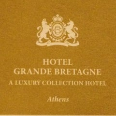 Photo taken at Hotel Grande Bretagne by Mishael S. on 3/22/2012