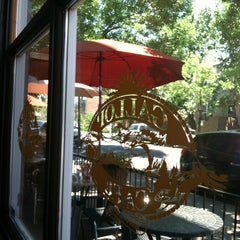 Photo taken at Gallop Cafe by Stefanie S. on 7/13/2012