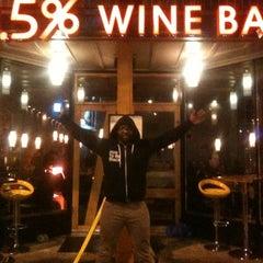 Photo taken at 13.5% Wine Bar by Tara H. on 3/24/2012