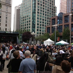 Photo taken at Vancouver International Jazz Festival by Roving B. on 6/23/2012