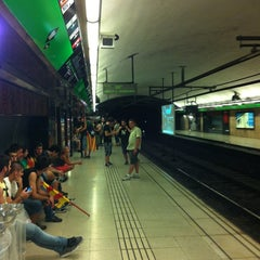 Photo taken at METRO Catalunya by Petroneo P. on 9/11/2012