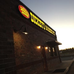 Photo taken at Dickey's Barbecue Pit by Chuck K. on 2/14/2012