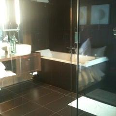 Photo taken at Le Rex Hôtel by Isabel M. on 8/4/2012