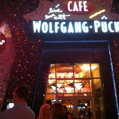 Photo taken at Wolfgang Puck Express (West Side) by Jason Stewart -. on 2/15/2012