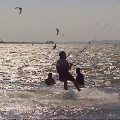 Photo taken at Kite Launch @ Sherman Island County Park by Marcus M. on 7/15/2012