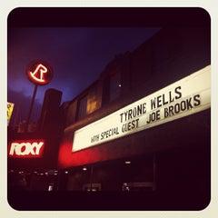 Photo taken at The Roxy by Joe Brooks on 4/1/2012