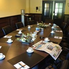Photo taken at Van der Valk Hotel Assen by Rob S. on 5/26/2012