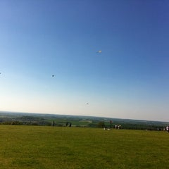 Photo taken at Dunstable Downs by James N. on 5/26/2012