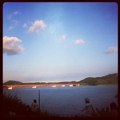 Photo taken at 浜名湖SA (上下集約型) by chi d. on 8/25/2012