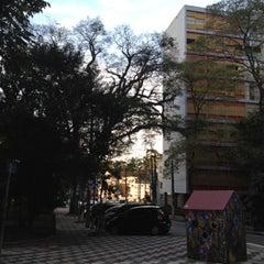 Photo taken at Praça Vilaboim by Formiga F. on 8/4/2012