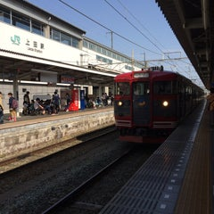 Photo taken at しなの鉄道 上田駅 by quiche on 5/1/2015
