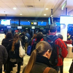 Photo taken at Puerta / Gate 28 by Rodrigo M. on 10/4/2012
