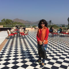 Photo taken at Sheraton Udaipur Palace Resort & Spa by Anand P. on 11/29/2015