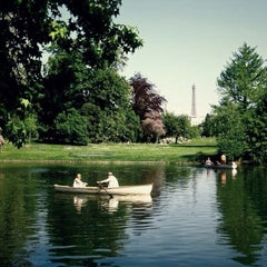 Photo taken at Bois de Boulogne by manos f. on 5/13/2013