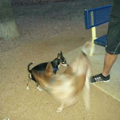 Photo taken at Fort Woof Dog Park by Patricio B. on 12/22/2012