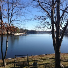 Photo taken at Lake Monticello by Natalie E. on 12/27/2013