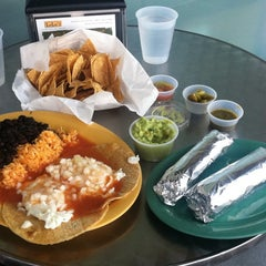 Photo taken at LuLu's Taqueria by Penguina I. on 1/4/2014