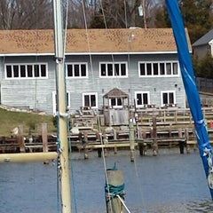 Photo taken at Deep Creek Restaurant and Marina by George Z. on 3/14/2014