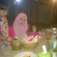 Photo taken at Saung Talaga by Fahrizal A. on 6/27/2015