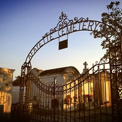 Photo taken at Lafayette Cemetery No. 1 by Molly B. on 4/13/2013