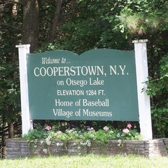 Photo taken at Village of Cooperstown by Kevin V. on 7/25/2015