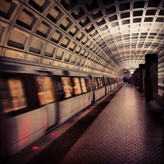 Photo taken at Capitol South Metro Station by Anthony A. on 11/1/2012