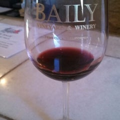 Photo taken at Baily Vineyard & Winery by Mark P. on 1/21/2013