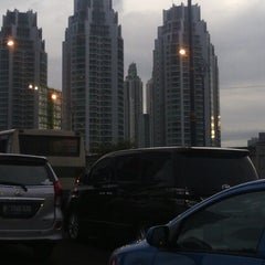Photo taken at Jalan H.R. Rasuna Said by Firman A. on 1/8/2013
