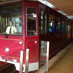 Photo taken at Peak Tram Upper Terminus by Care T. on 5/31/2015