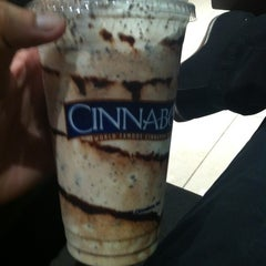 Photo taken at Cinnabon Bakery Cafe by Imran S. on 10/16/2012