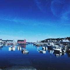 Photo taken at Rockport Harbor by E m m a r i n on 9/11/2015