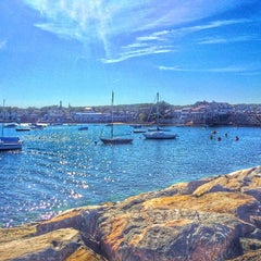 Photo taken at Rockport Harbor by E m m a r i n on 9/13/2015