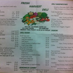 Photo taken at Fresh Harvest Deli by Jessica B. on 2/1/2013