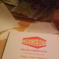 Photo taken at Cheeseboy: Grilled Cheese To Go by Bessie K. on 10/16/2013