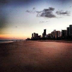 Photo taken at Praia do Pina by Rodolfo F. on 4/3/2013