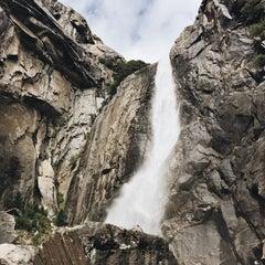 Photo taken at Lower Yosemite Falls by Justin G. on 10/18/2015