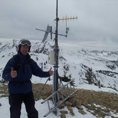 Photo taken at Mt. Baldy by Andy J. on 3/21/2014