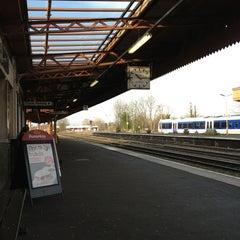 Photo taken at Leamington Spa Railway Station (LMS) by Matthew W. on 1/5/2013
