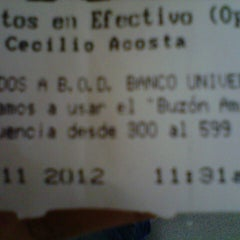 Photo taken at BOD (Cecilio Acosta) by Briceida B. on 11/19/2012