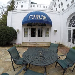 Photo taken at The Forum at The Greenbrier by Steve Jotham H. on 9/1/2015
