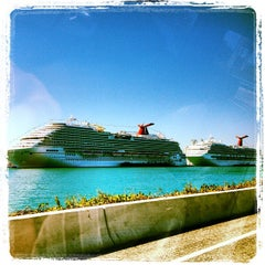 Photo taken at Port of Miami by Romain G. on 11/24/2012